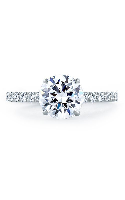 A. Jaffe Quilted Collection - Platinum 0.44ctw Diamond Engagement Ring, ME1865Q-194 product image