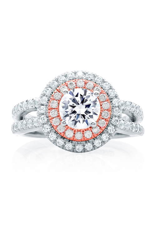 A.Jaffe Halo Engagement Ring MES634-149 product image