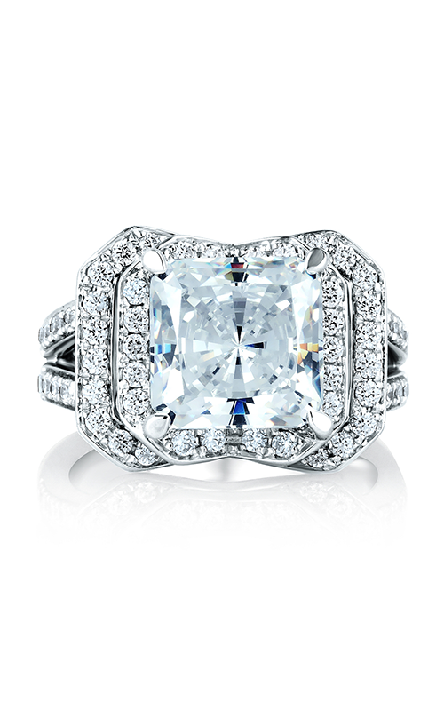 A.Jaffe Halo Engagement Ring MES407-473 product image