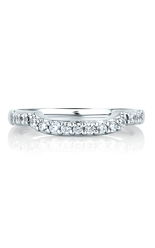 A.Jaffe Shared Prong Wedding Band MRS126-22 product image