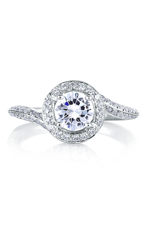 A. Jaffe Metropolitan - Platinum  Engagement Ring, MES322-125 product image