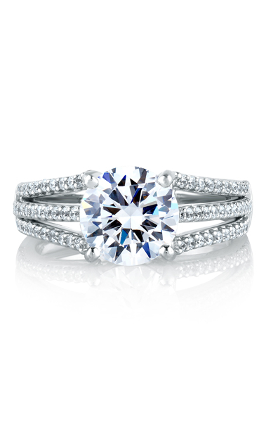 A. Jaffe Engagement ring MES300-48 product image