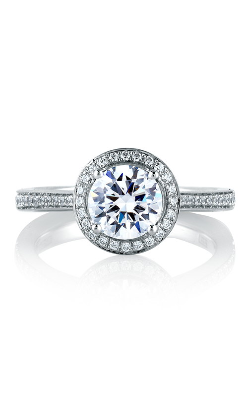 A.Jaffe Halo Engagement Ring MES596-132 product image