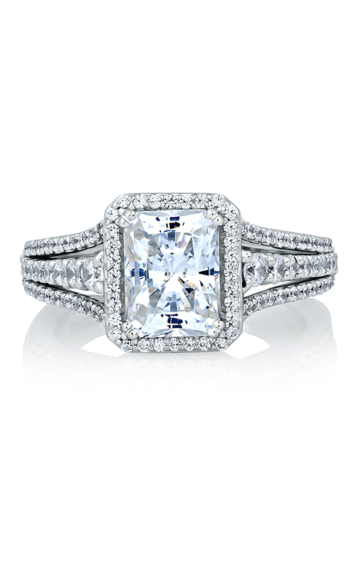 A. Jaffe Metropolitan - Platinum 0.66ctw Diamond Engagement Ring, MES568-216 product image