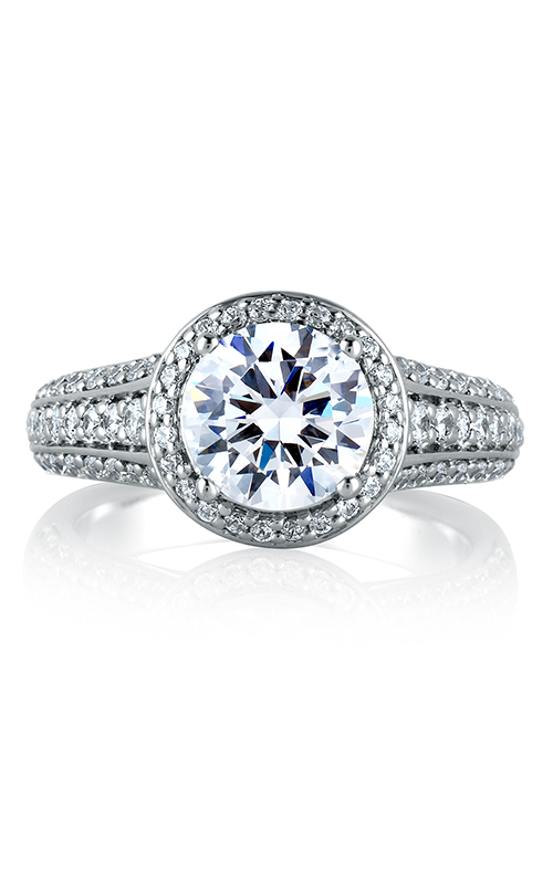A.Jaffe Halo Engagement Ring MES567-213 product image