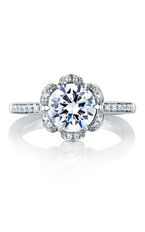 A.Jaffe Halo Engagement Ring MES560-188 product image
