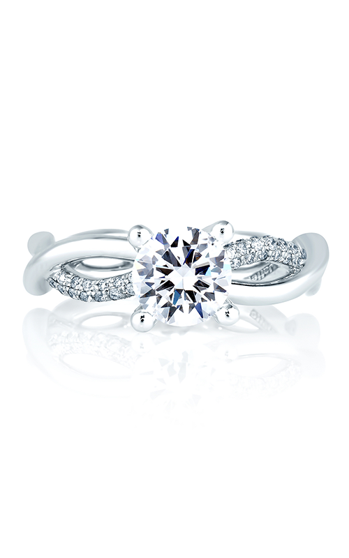 A. Jaffe Seasons of Love - Platinum 0.32ctw Diamond Engagement Ring, ME1646-132 product image