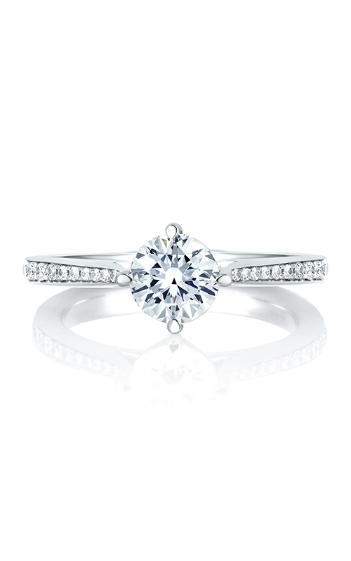 A. Jaffe Seasons of Love - Platinum 0.17ctw Diamond Engagement Ring, MES429-92 product image