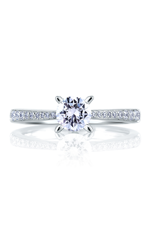 A. Jaffe Seasons of Love - Platinum 0.25ctw Diamond Engagement Ring, ME1567-75 product image