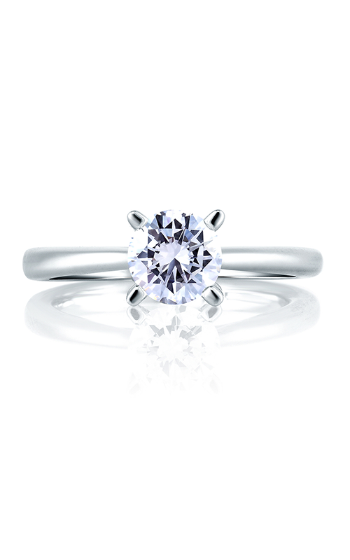 A. Jaffe Seasons of Love - Platinum 0.05ctw Diamond Engagement Ring, ME1585-105 product image