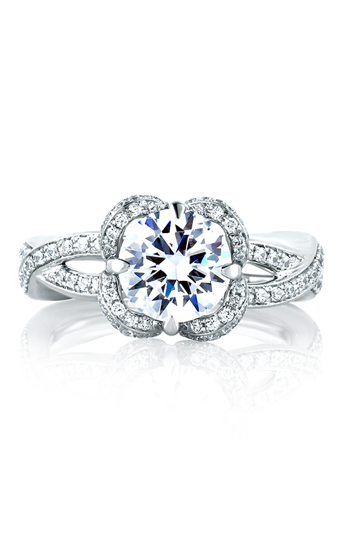 A. Jaffe Seasons of Love - Platinum 0.56ctw Diamond Engagement Ring, MES564-181 product image