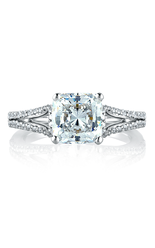 A.Jaffe Fancy Side Stone Engagement Ring MES573-105 product image