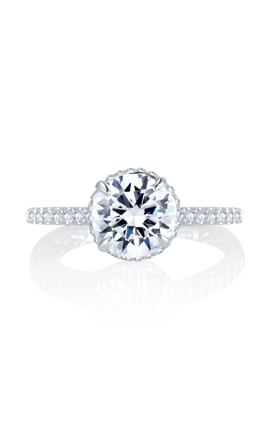 A. Jaffe Classics - 18k white gold 0.25ctw Diamond Engagement Ring, MES766Q product image