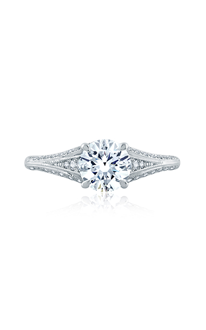 A.Jaffe Solitaire Engagement Ring MES871-129 product image