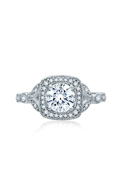 A.Jaffe Art Deco Engagement Ring ME2106Q-124 product image