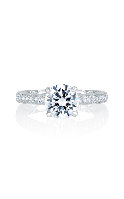 A.Jaffe Solitaire Engagement Ring MES743Q-171 product image