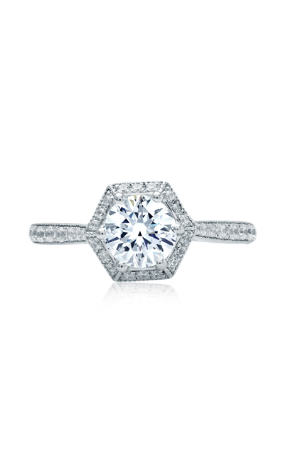 A.Jaffe Art Deco Engagement Ring MES827 product image