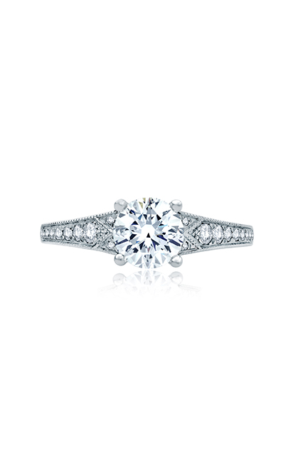 A.Jaffe Art Deco Engagement Ring ME2102Q-117 product image