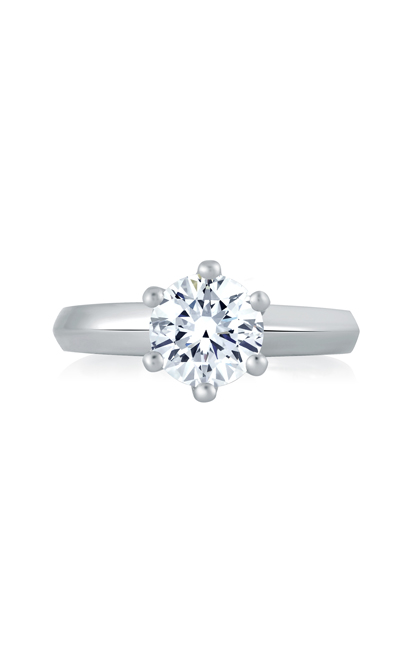 A.Jaffe The Six Prong Solitaire Engagement Ring MES391 product image