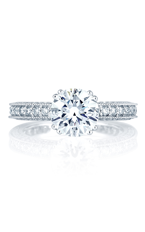A.Jaffe Shared Prong French Pave Engagement Ring  ME1465-84 product image