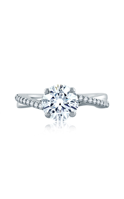 A.Jaffe Art Deco Engagement Ring ME1582-63 product image