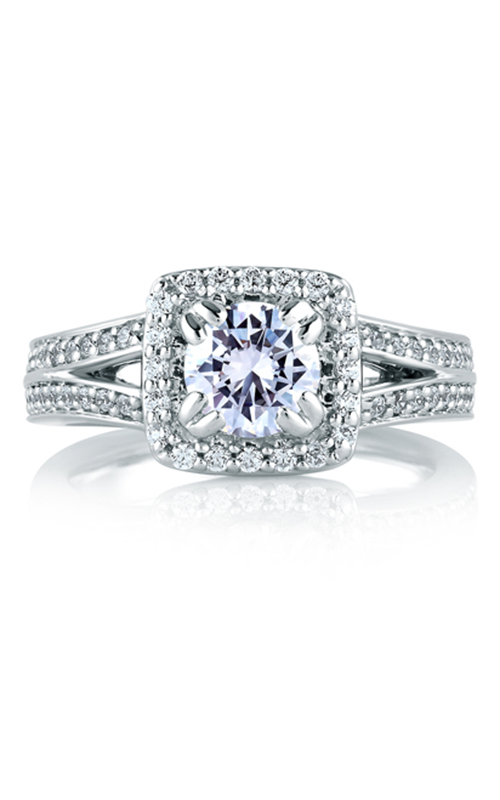 A.Jaffe Halo Engagement Ring MES264-145 product image