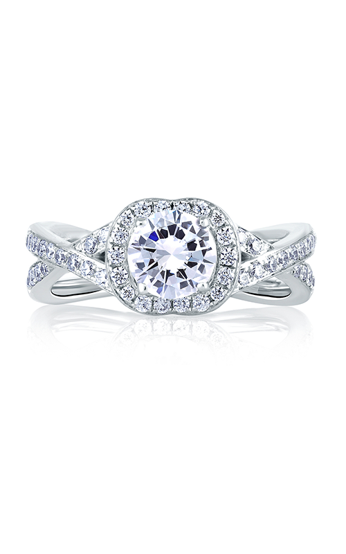 A.Jaffe Halo Engagement Ring MES410-109 product image