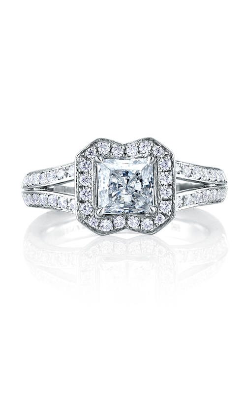 A.Jaffe Halo Engagement Ring MES412-117 product image