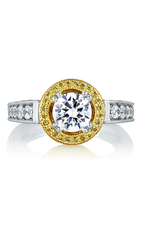 A.Jaffe Halo Engagement Ring MES598-193 product image