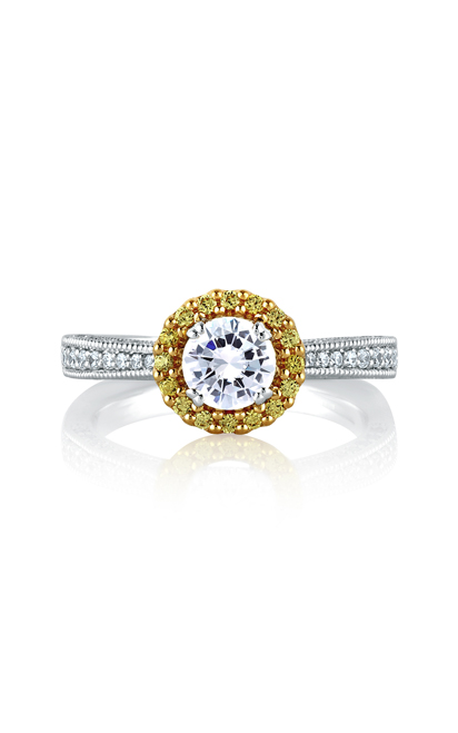 A.Jaffe Art Deco Engagement Ring MES600B-110 product image