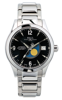 Ball Moon Phase NM2082C-SJ-BK