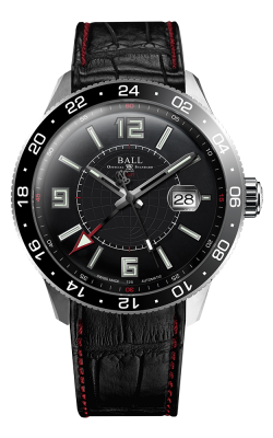Ball Pilot GMT GM3090C-LLAJ-BK