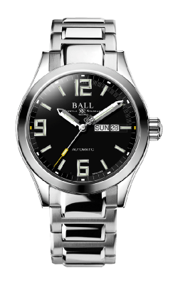 Ball Legend (43mm) NM9328C-S14A-BKGR