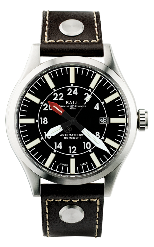 Ball Aviator GMT GM1086C-LJ-BK