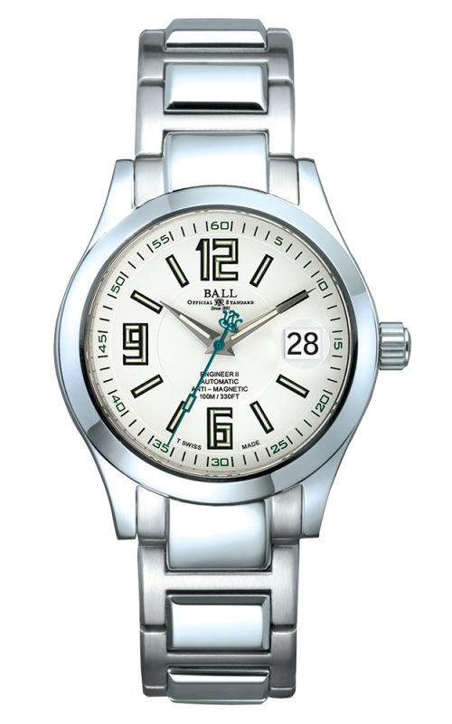 Ball Arabic 40 MM NM1020C-S4-WH