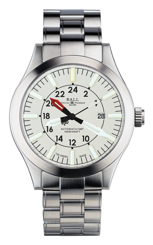 Ball Aviator GMT GM1086C-SJ-WH
