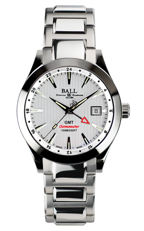 Ball Chronometer Red Label GMT GM2026C-SCJ-WH