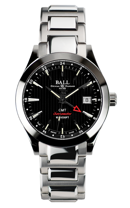 Ball Chronometer Red Label GMT GM2026C-SCJ-BK