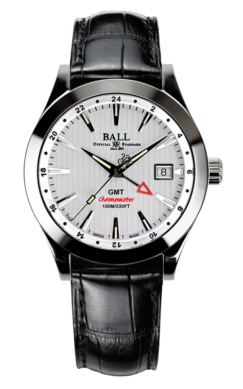 Ball Chronometer Red Label GMT GM2026C-LCJ-WH