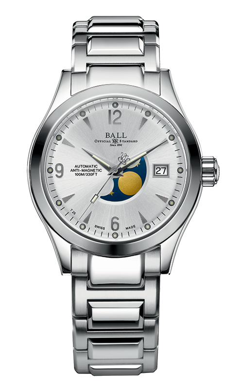 Ball Moon Phase NM2082C-SJ-SL