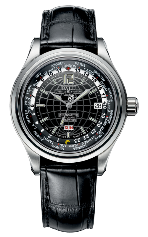Ball Worldtime COSC GM2020D-LCJ-BK
