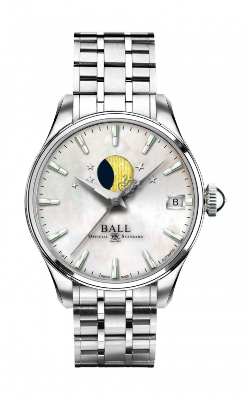 Ball Moon Phase NL3082D-SJ-WH