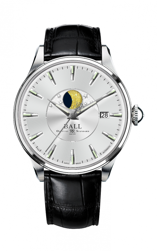 Ball Moon Phase NM3082D-LLFJ-SL