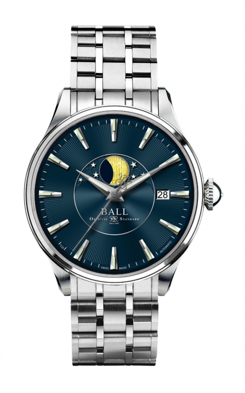 Ball Moon Phase NM3082D-SJ-BE