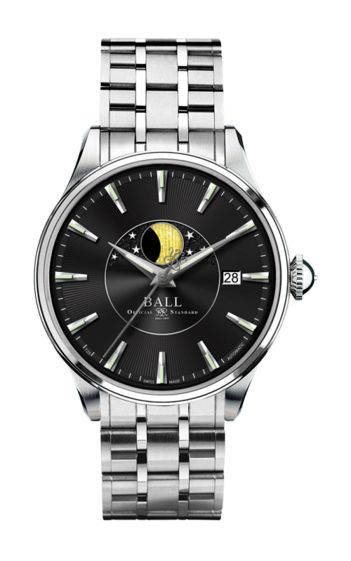 Ball Moon Phase NM3082D-SJ-BK