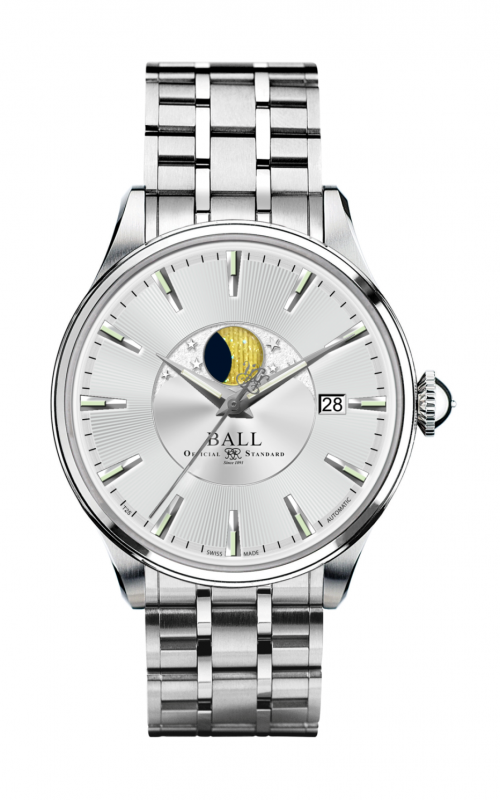 Ball Moon Phase NM3082D-SJ-SL