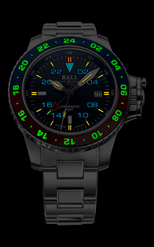 Ball AeroGMT II DG2018C-S9C-BE 3
