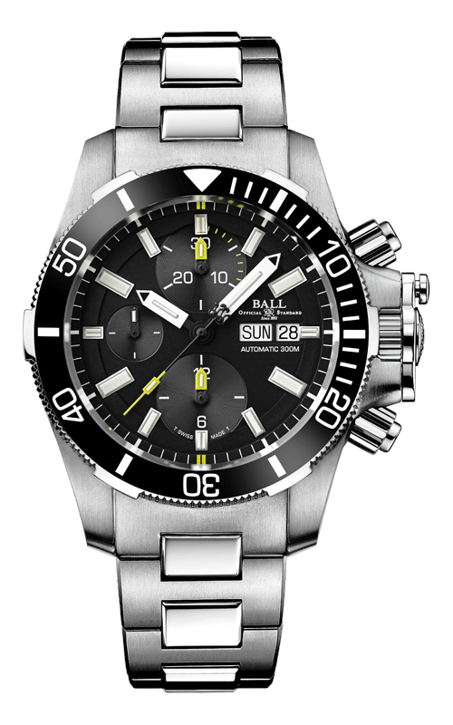 Ball Submarine Warfare Ceramic Chronograph DC2236A-SJ-BK
