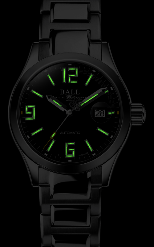 Ball Legend (31mm) NL1026C-S4A-BKGR 2