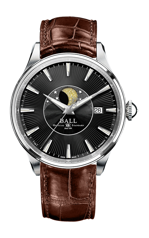 Ball Moon Phase NM3082D-LLJ-BK
